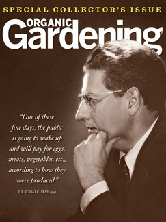 "Special Collector's Issue ""Organic Gardening"" mag worth checking out!"