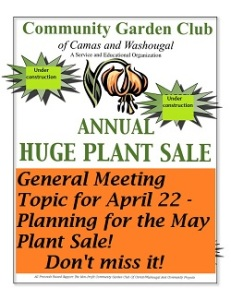 GardenClubPlantSaleFlyer 2015 April22GeneralMeeting_325h