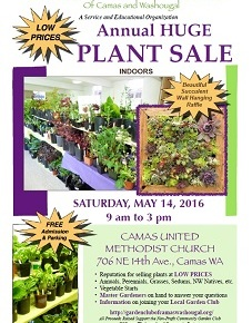 May 14, Saturday – PLANT SALE!