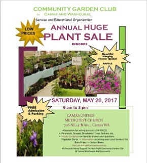 Garden Club's Annual Plant Sale – May 20, 2017 – ispassed