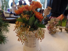 Make your own Flower Arrangement!  Nov 14th @1pm (DATE CORRECTION!)