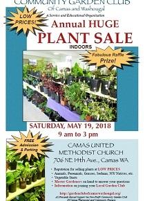 Garden Club's Annual Plant Sale!  Saturday, May 19,9am-3pm