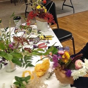 Floral Arrangement Pix from November 14, 2018 GeneralMeeting!