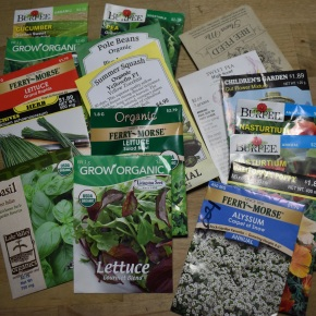 Free SEEDS from the FVRL Washougal branch SEED LIBRARY !